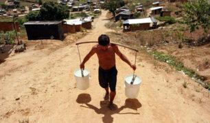 Falta de agua: muchos peruanos aún no tienen acceso a este recurso vital