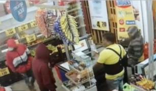 Capturan a delincuentes que robaron minimarket en SJM