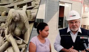 Pachacamac: ministerio de Vivienda entrega nueva casa a Evangelina Chamorro
