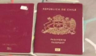 Falsificadores de pasaportes: funcionarios públicos chilenos podrían estar involucrados