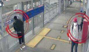 Asalto en el Metropolitano: a pesar de ser grabados delincuentes hacen de las suyas