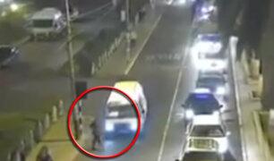 Tacna: cámaras de seguridad registran a combi atropellando a una mujer