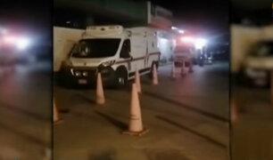 Callao: denuncian que hospital Carrión retuvo camilla de bomberos