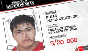 Mininter ofrece 20 mil soles por hombre que violó y asesinó a menor en Jicamarca