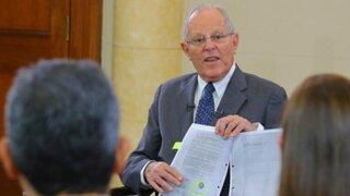 Finalizó interrogatorio a presidente Kuczynski por caso Interoceánica
