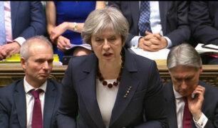"""Theresa May justifica ataque a Siria ya que """"no había otra alternativa"""""""