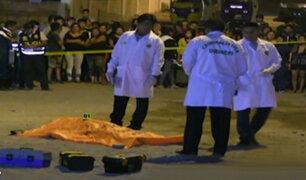 VES: hombre es asesinado de un balazo en el pecho por resistirse a robo