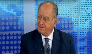 Ántero Flores-Aráoz opina sobre nuevo pedido de vacancia presidencial