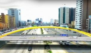 ¿Cuánto beneficiará la construcción de dos puentes sobre la Vía Expresa?