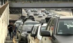 Peatones continúan arriesgando su vida al cruzar la Vía Expresa