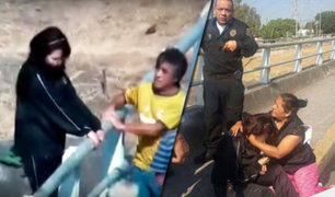 México: evitan suicidio de joven que pretendía lanzarse desde un puente