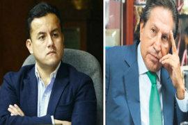 """Congresista Acuña se pronuncia sobre """"acusaciones"""" de Alejandro Toledo"""
