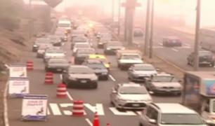 Barranco: refacción de puente en Costa Verde ocasiona caos vehicular