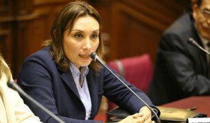 Patricia Donayre presenta proyecto para convocar a elecciones generales si PPK es vacado