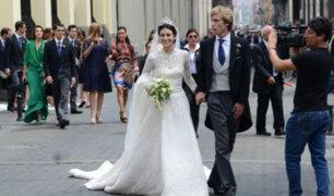 Boda Real: trajes de gala se lucieron en unión de Alessandra de Osma y Christian de Hannover