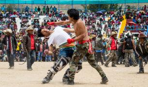 El Takanakuy: una tradición inca que se celebra a puño limpio