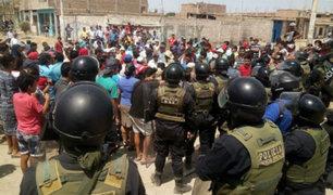 Chiclayo: violento desalojo deja personas heridas y tres detenidos