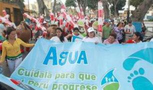 Inició marcha por el Día Internacional del Agua