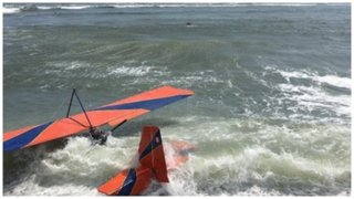 Aeronave cae durante exhibición en la Costa Verde