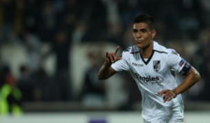 Peruanos en el extranjero: Paolo Hurtado anota dos goles en Portugal