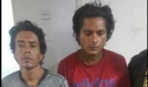 SMP: detienen a marcas que robaron celular a mujer