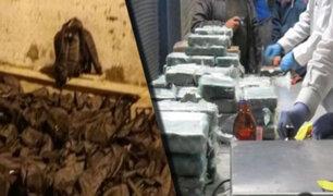 Callao: Dirandro incauta tonelada y media de droga que tenía como destino Europa