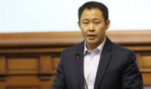 Kenji Fujimori: FP busca desaforar congresistas para recuperar mayoría