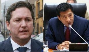 Congresistas de FP acudieron a la Prefectura de Lima para pedir garantías personales
