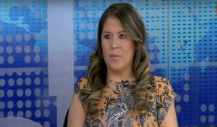 """Yeni Vilcatoma sobre difusión de videos: """"Ministerio Público tiene que tomar acciones """""""