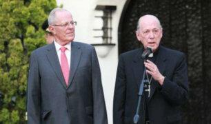 Presidente Kuczynski se reunió con cardenal Juan Luis Cipriani
