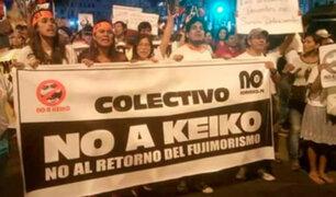 Colectivos organizan marcha para mañana por crisis política