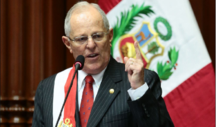 Pedro Pablo Kuczynski critica a congresistas peruanos