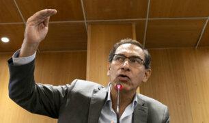 Martín Vizcarra llegó al Perú para asumir Presidencia de la República