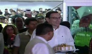 Martín Vizcarra llegó a Lima para para asumir la presidencia del Perú