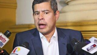 Luis Galarreta: Propuesta de resolución sobre renuncia de PPK es un borrador