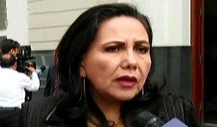 """Gloria Montenegro dice que propuesta de resolución sobre renuncia de PPK es """"una provocación"""""""