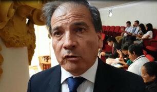Wilbert Rosas acusa a Jorge Del Castillo de filtrar propuesta de resolución sobre renuncia