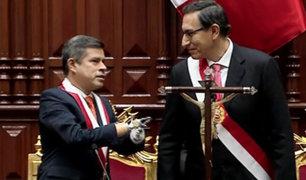 Martín Vizcarra juramentó como nuevo presidente de la República