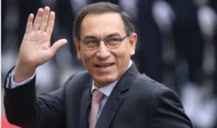 Así fueron las reacciones de los peruanos tras anuncio de Vizcarra como presidente