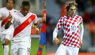¡Lo logramos! Perú derrotó a Croacia por 2-0