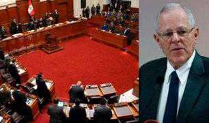 """Reacciones tras entrampamiento por resolución que acusaba a PPK de """"traidor a la patria"""""""