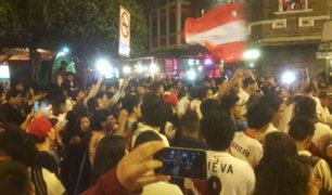 Perú vs. Croacia: así se vivieron los goles de la 'Bicolor' en varios puntos de la capital