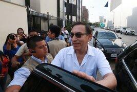Presidente Martín Vizcarra realizó visita al Hospital del Niño