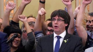 Policía alemana detiene al expresidente catalán Carles Puigdemont