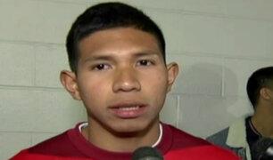 Edison Flores ya entrena con la selección