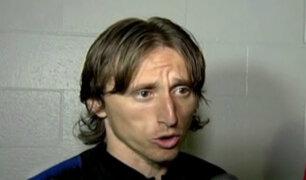 Luka Modric halagó a la selección peruana