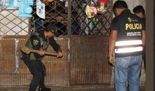 Desarticulan dos bandas durante megaoperativo policial en Trujillo y Chiclayo