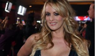 EEUU: actriz porno, Stormy Daniels, asegura haber recibido amenazas de muerte