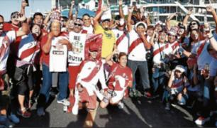 Así fue el recibimiento de la hinchada a la Selección Peruana en New Jersey