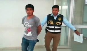 Tacna: detienen a sujeto acusado de violar a su hijo de un año